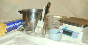 Supplies for Soap Making
