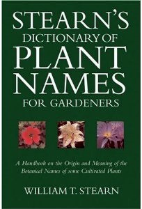 Stearns Dictionary of Plant Names