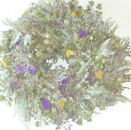Summer's Fresh Herbal Wreath